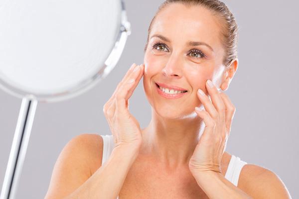 Gezichtsbehandeling jonge huid